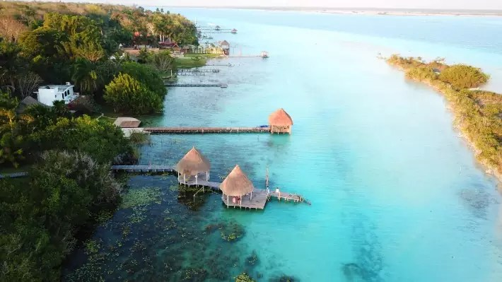 bacalar, mexico - travellemming; Best drones for travel