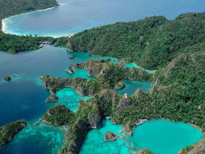 raja ampat, indonesia - bemytravelmuse; Best drones for travel