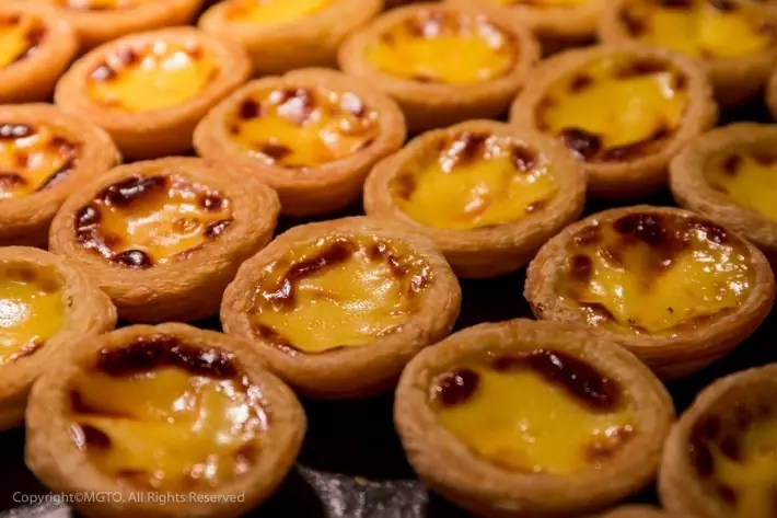 Egg tart best food in macau