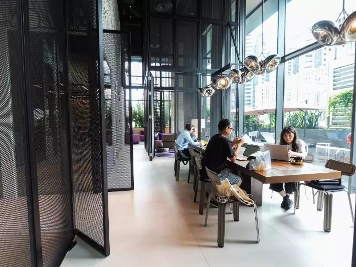 co-working space, millennial, digital nomad, yotel singapore hotel review