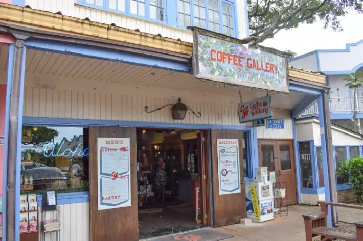 Coffee Gallery, North Shore Oahu Activities