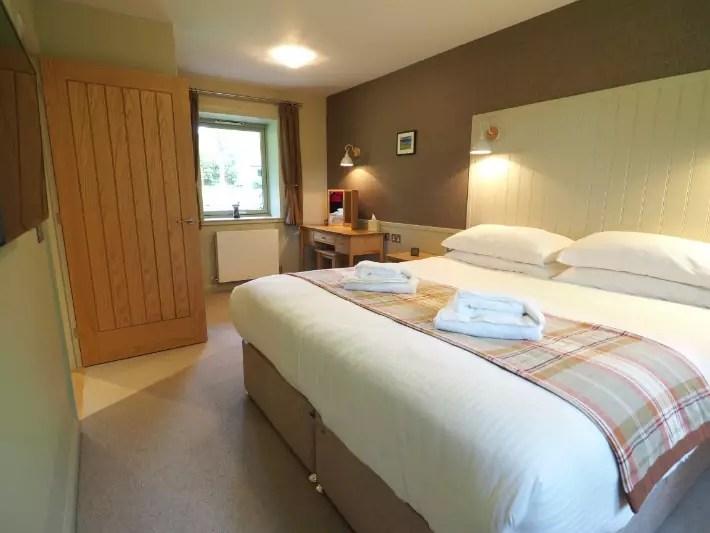 bedroom 2, glen nevis holidays luxury cottage, scotland itinerary