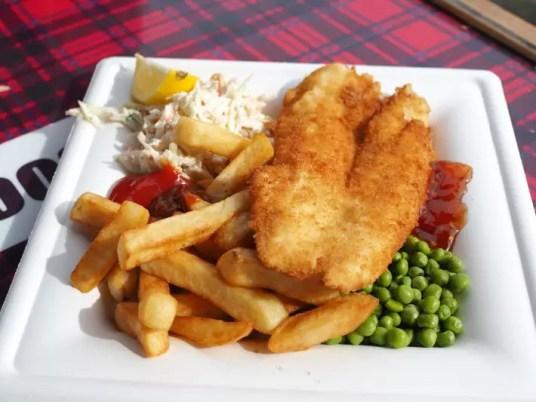 fish n chips, Oban Seafood Hut, oban, scotland itinerary