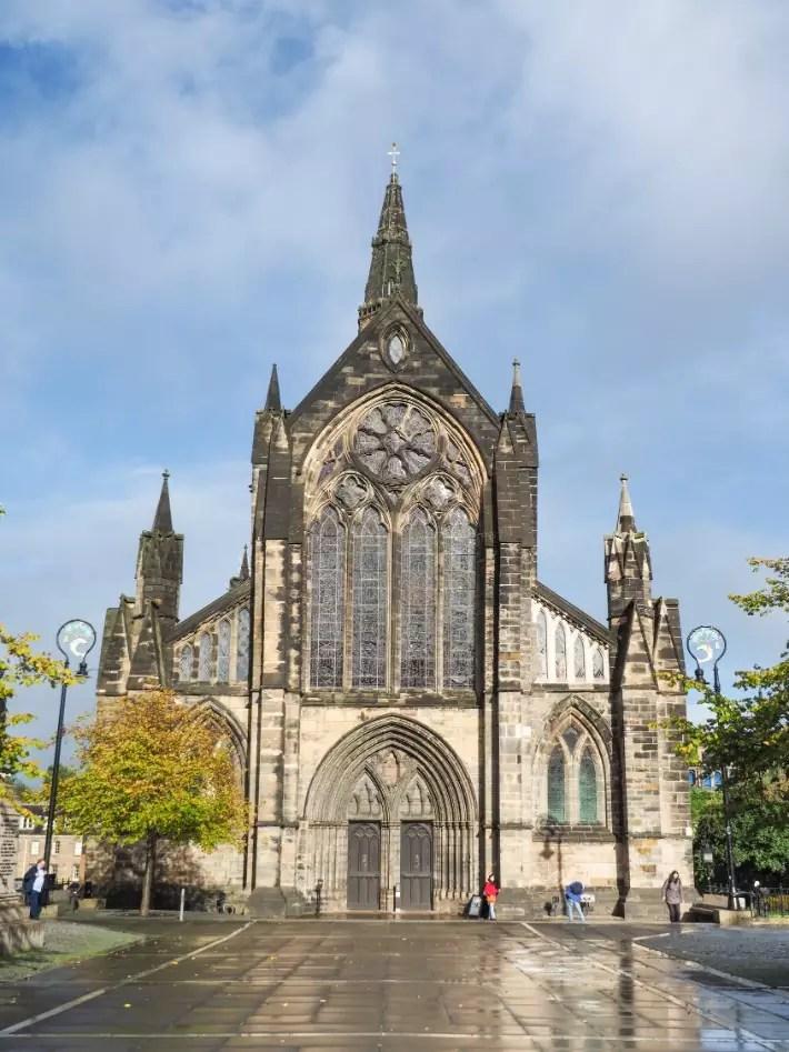 glasgow cathedral, glasgow, scotland itinerary