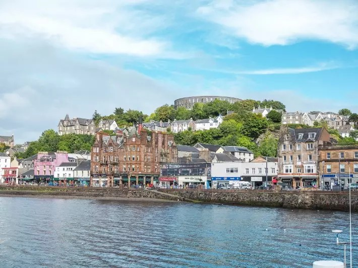 oban town, scotland itinerary