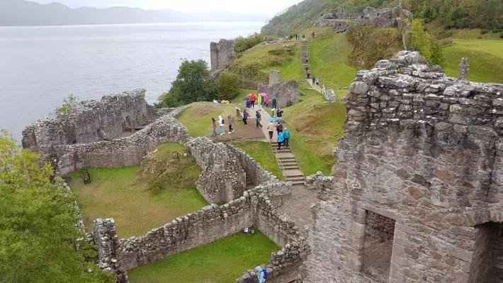 urquhart castle visit, scotland itinerary, road trip