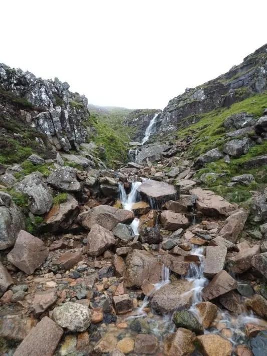 waterfall ben nevis, scotland