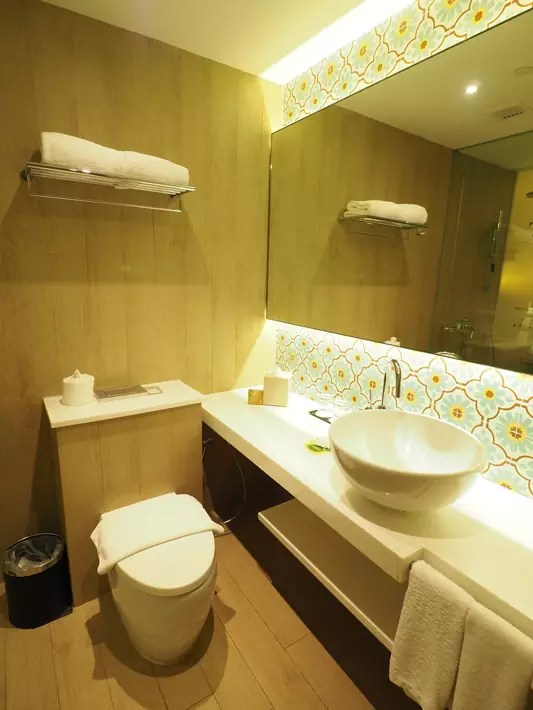 Village Katong Hotel's Made-In-Singapore toilet