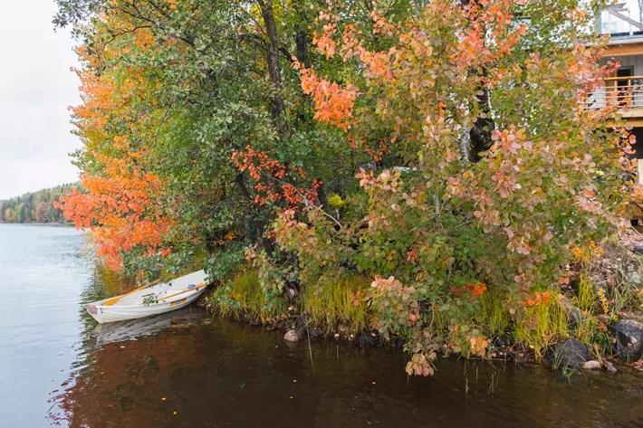 autumn lake, Nuuksio National Park