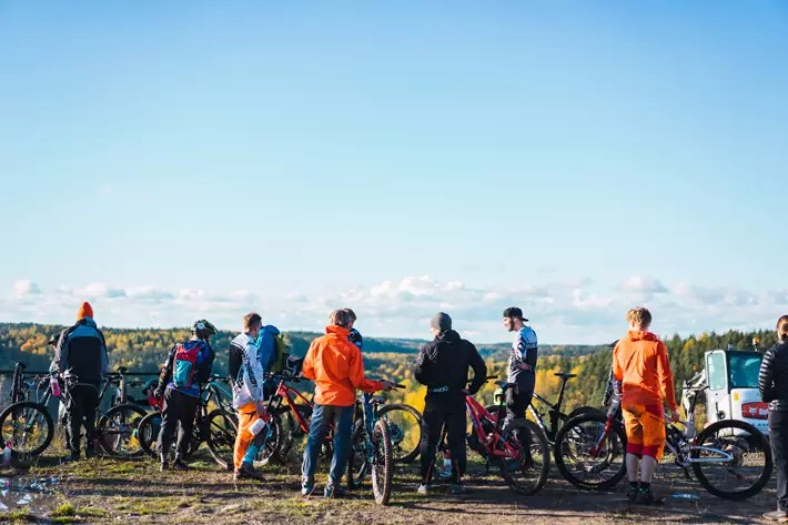 swinghill, cycling, Nuuksio National Park