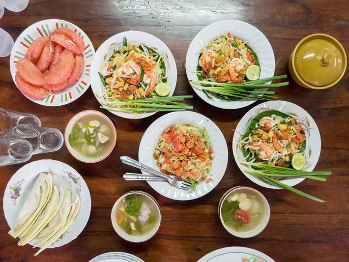 thai food, Day trips from Bangkok -Amphawa Floating Market, Maeklong Railway Market, Ban Bang Phlap