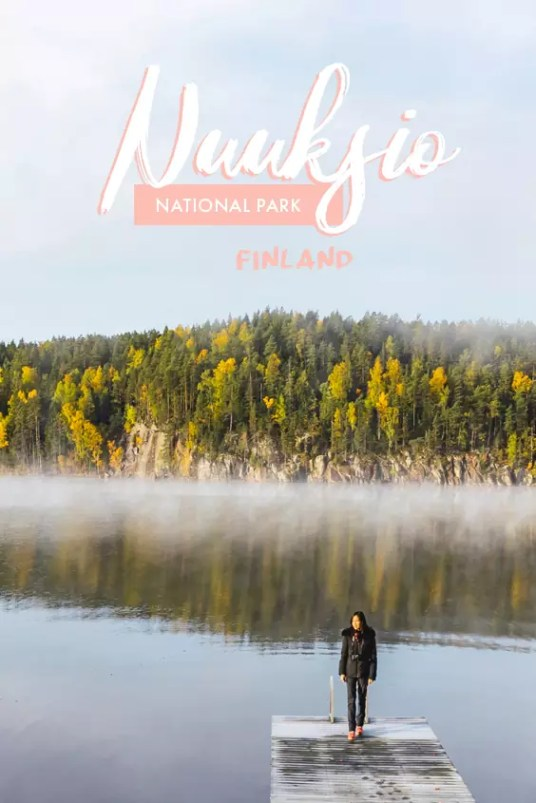 Beauty of Finland's Nuuksio National Park during autumn in pictures. Come on a visual journey through these pictures! #Finland #Nuuksio #NationalPark #Helsinki