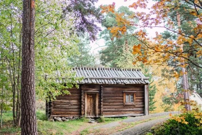 log house, Seurasaari Open-Air Museum, Helsinki