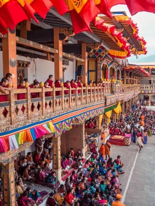 Punakha Tshechu festival grand, Bhutan