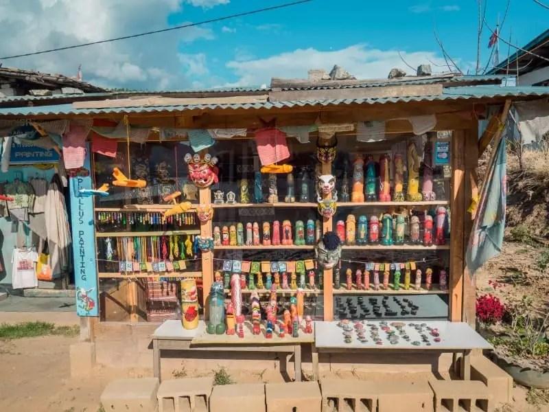 souvenirs, Chimi Lhakhang Phallus Bhutan