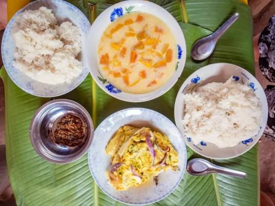 trekking-Luang-Namtha-Laos-Homestay-Nam-Ha-breakfast
