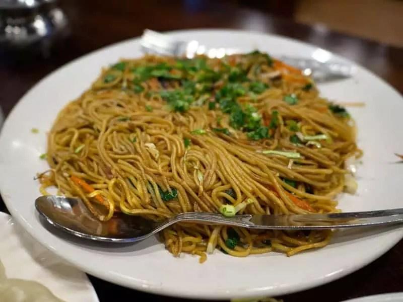 Cheowmien-what-to-eat-in-bhutan
