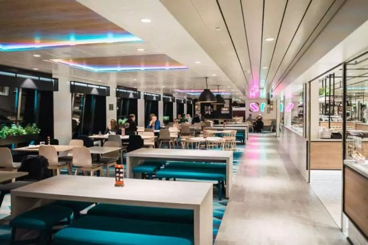 Tallink Silja ferry restaurant eat food, tallinn, estonia