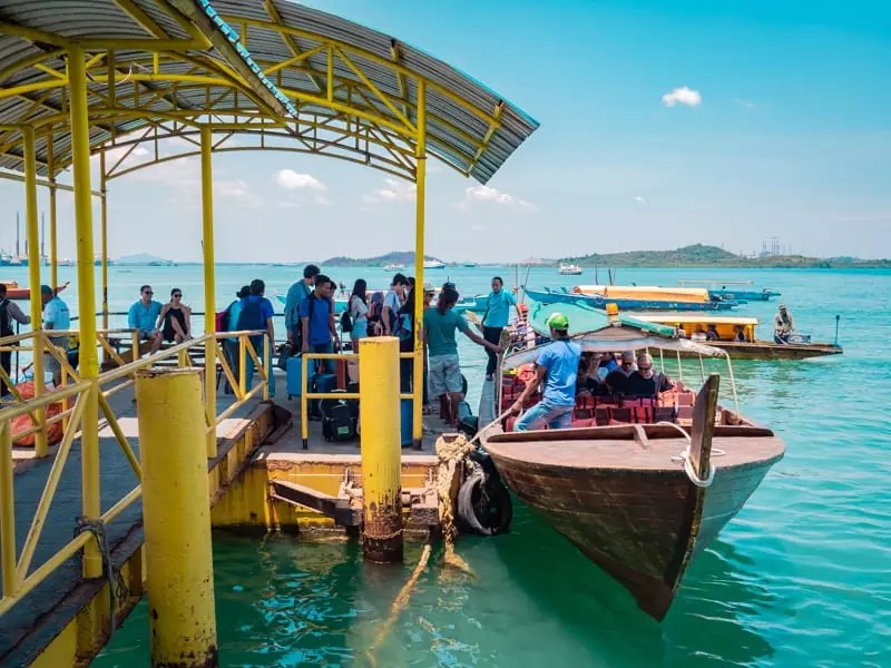 ferry transfer, Telunas-Private-Island-Batam-Indonesia-Hotel-Review