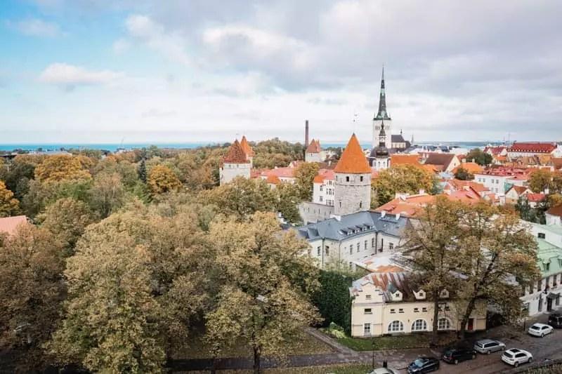 viewpoint Viru Gates, Things to do in Tallinn, Estonia