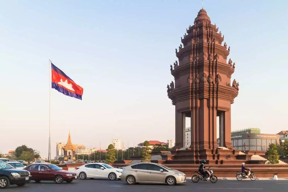 Independence Monument in Siem Reap, 15-Day Vietnam-Cambodia Itinerary 17