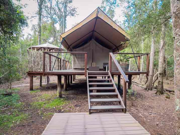 Paperbark-Camp-Jervis-Bay-Australia-Review-deluxe-plus-tent