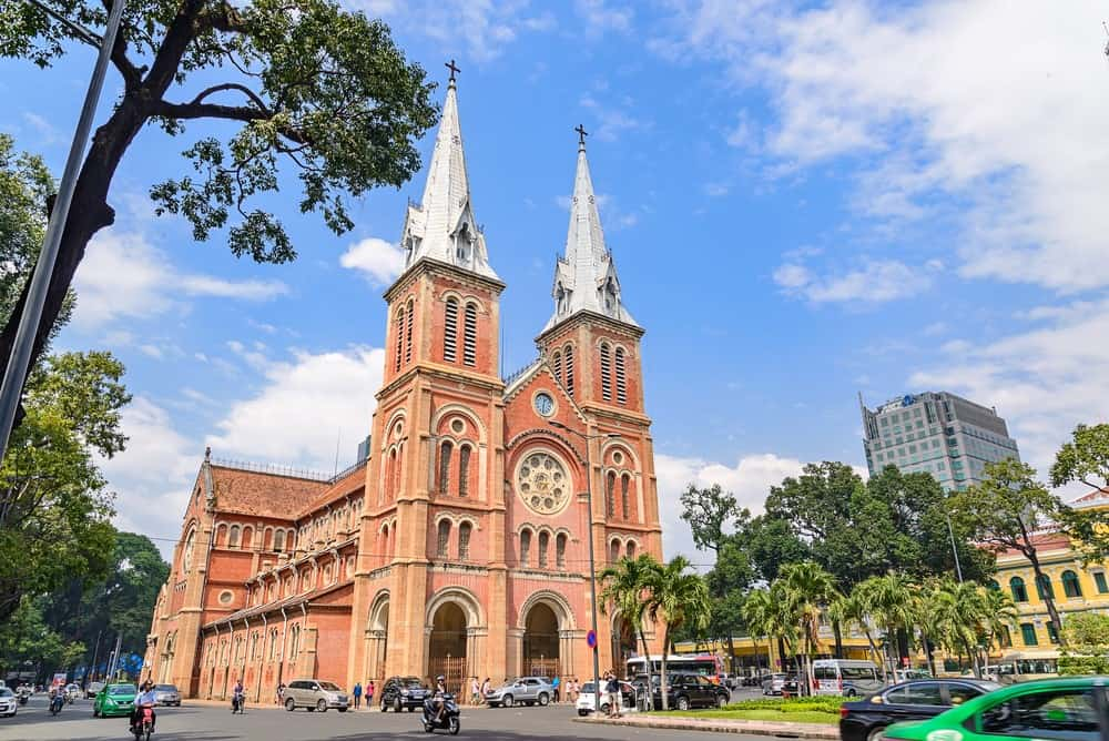 Saigon Notre Dame Cathedral, 15-Day Vietnam-Cambodia Itinerary 11