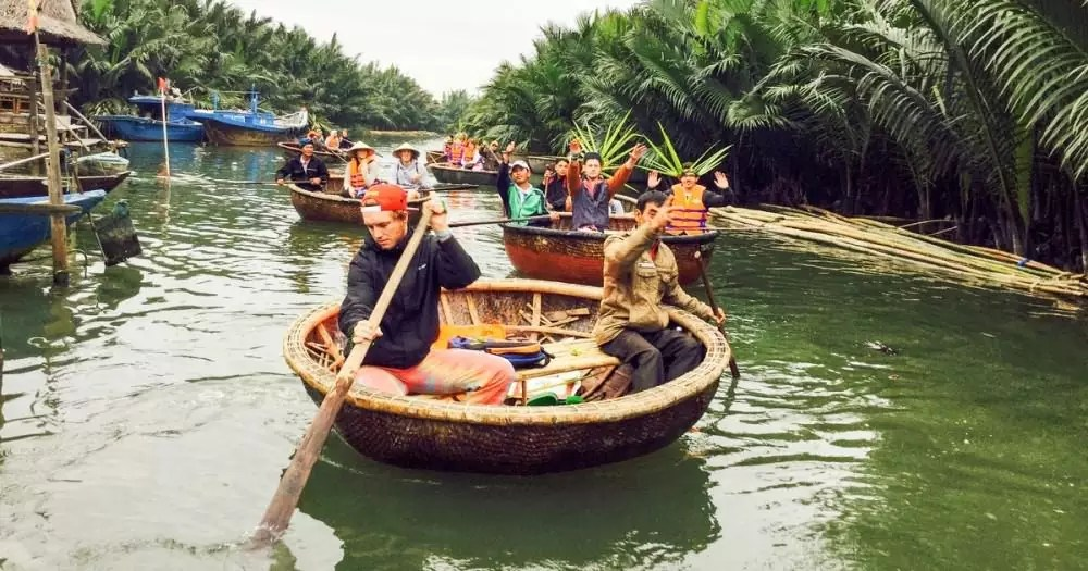 boat tour at Cam Thanh village, 15-Day Vietnam-Cambodia Itinerary 9