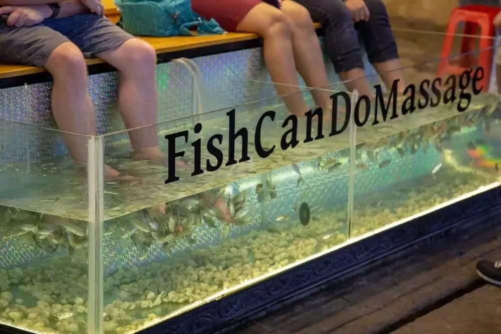 fish massage in Siem Reap, 15-Day Vietnam-Cambodia Itinerary 22
