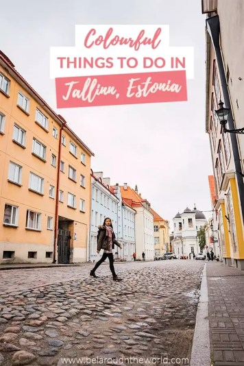 Things to do in Tallinn, Estonia - Scour the most Instagrammable spots in Tallinn. So many colourful locations!