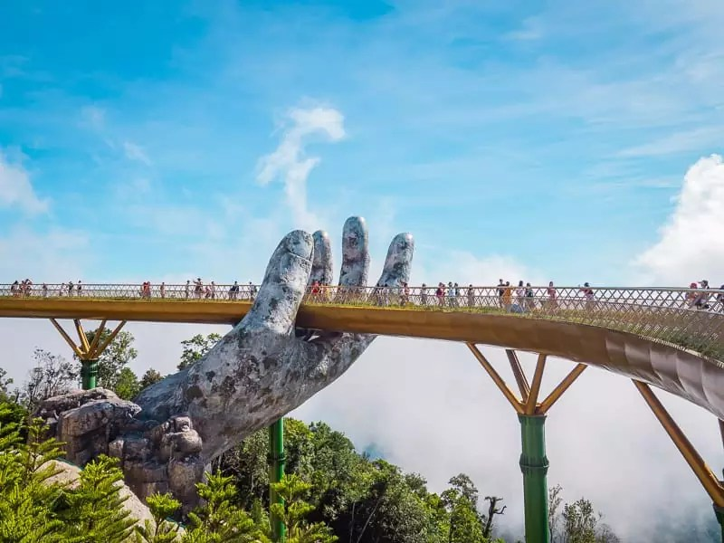 Golden Bridge, Things-to-do-in-Da-Nang-Vietnam