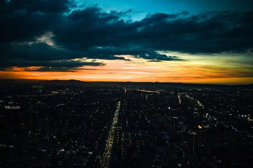 view-of-Taipei-from-Taipei-101, things to do in taipei taiwan
