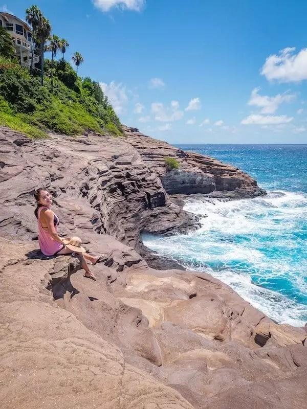 Halona-Blowhole-Oahu-Hawaii