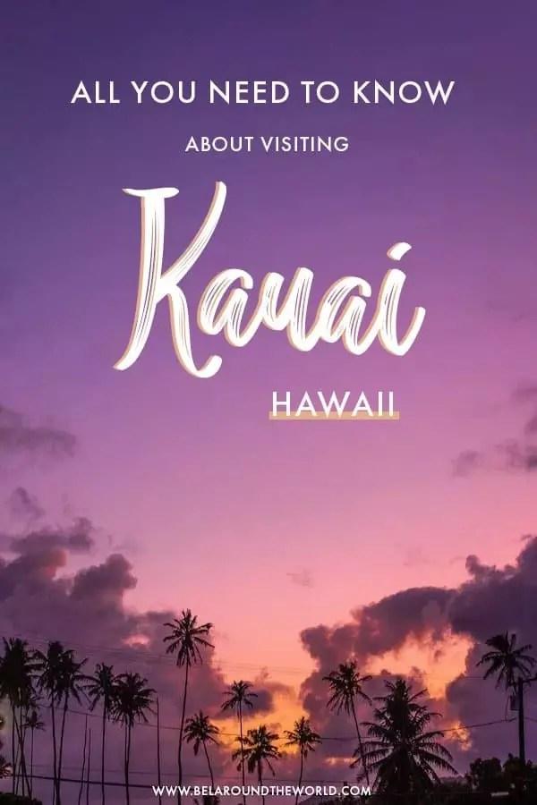 travel guide to #Kauai, best beaches on kauai, best hikes on kauai, what to eat in kauai, #hawaii