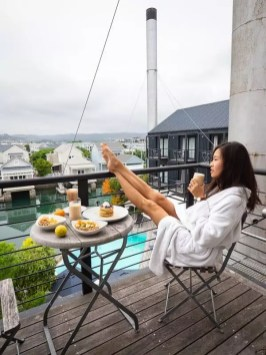 breakfast in bed, Turbine-Boutique-Hotel-Spa-Knysna-South-Africa