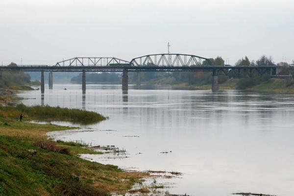 Путь из Варяг в греки. Западная Двина в Полоцке. Реки в ...