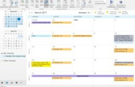 Assign categories to calendar events in Outlook 2016 IMAP