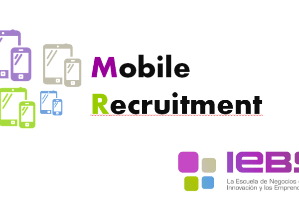 curso sobre mobile recruitment o reclutamiento móvil