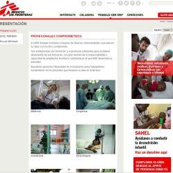 portal de empleo de médicos sin fronteras