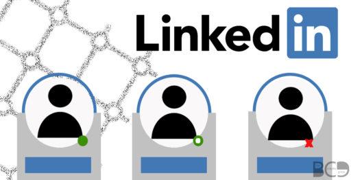 qué significado tiene el punto verde en la foto de perfil de linkedin