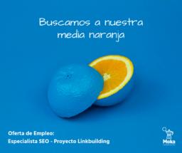 Modelo anuncio oferta empleo Moka Comunicación