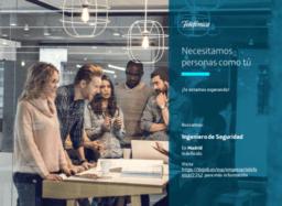 Modelo anuncio oferta empleo Telefónica
