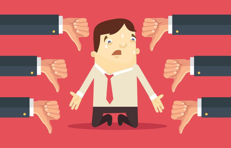 Cómo gestionar el rechazo en un proceso de selección