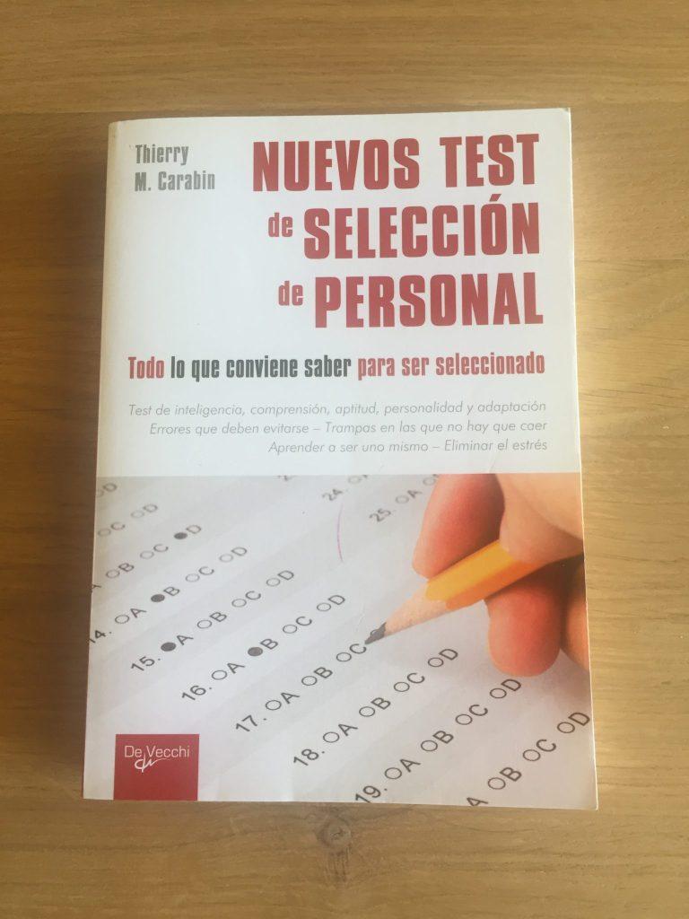 Libro Nuevos Test Selección de Personal