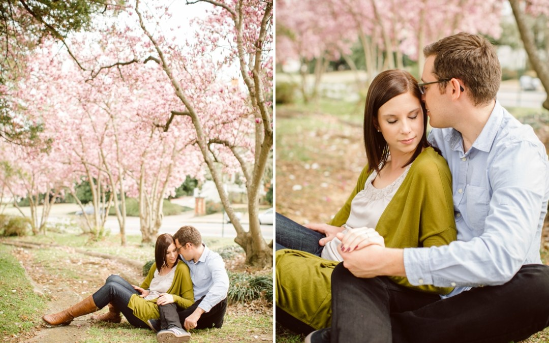 David+Jennifer // Macon, Ga Engagement Session