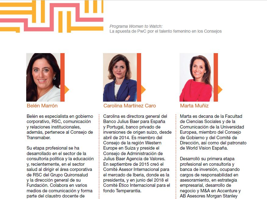 Programa Women to Watch