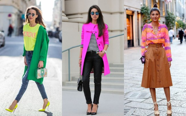 moda 2019 neon