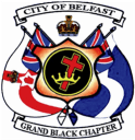 City of Belfast Grand Black Chapter Logo