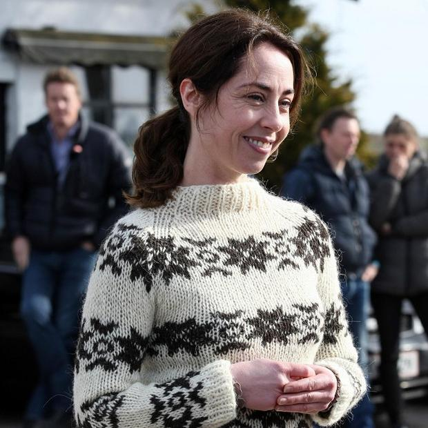 Sofie Grabol plays detective Sarah Lund in The Killing