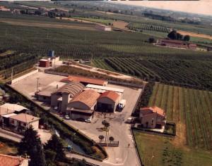 Vista aerea macello Belfiorecarni